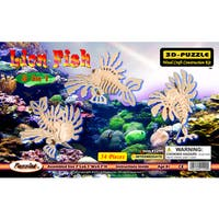 Puzzled 3D Puzzles 3-in-1 Lion Fish