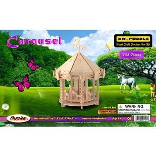 Puzzled Carousel 3D Puzzle