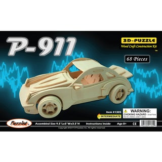 Puzzled P-911 Wooden Large 3D Puzzle