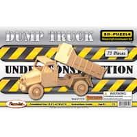 Puzzled Dump Truck 3D Puzzle