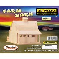 Puzzled Farm Barn 3D Puzzle