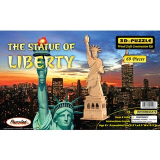 Puzzled 3D Puzzles The Statue Of Liberty Puzzle