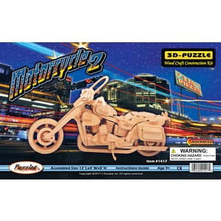 Puzzled Motorcycle 2 Wood 3D Puzzle