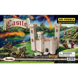 Puzzled Inc Wooden 3D Castle Puzzle