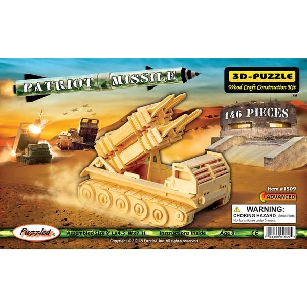 Puzzled Inc. 3D Patriot Missle Puzzle