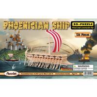 Puzzled 3D Phoenician Ship Puzzle