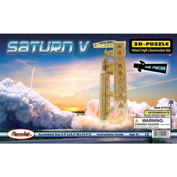 Puzzled 3D Puzzles Saturn V