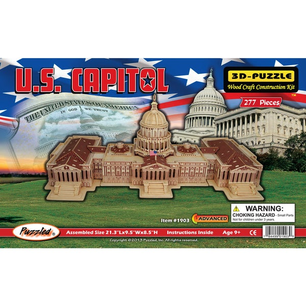 Puzzled US Capitol 3D Puzzles