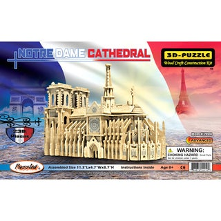 Puzzled Notre Dame Cathedral 3D Puzzle