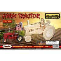 Puzzled 3D Farm Tractor Puzzle