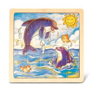 Puzzled Dolphin Jigsaw