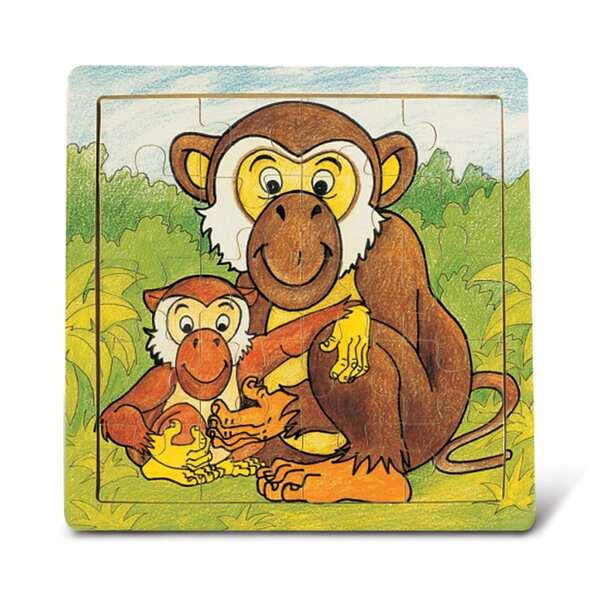 Puzzled Wood 'Monkey' Jigsawith Puzzle
