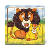 Puzzled Lion Jigsaw Puzzle