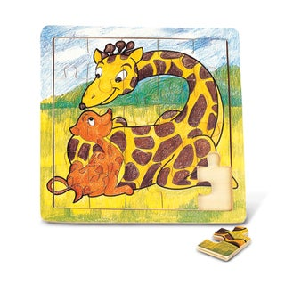 Puzzled Wood 'Giraffe' Jigsaw Puzzle