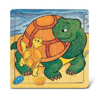 Puzzled Wood 'Turtle' Jigsaw Puzzle