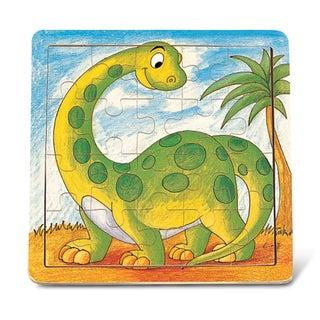 Puzzled Jigsaw Dinosaur