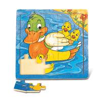 Puzzled Duck Jigsaw Puzzle
