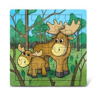 Puzzled Moose Jigsaw