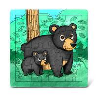 Puzzled Wood 'Black Bear' Jigsaw Puzzle