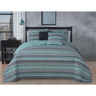 Avondale Manor Meridian 5-piece Quilt Set