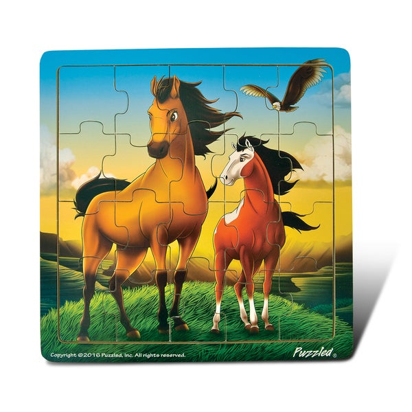 Puzzled Horse Jigsaw Puzzle