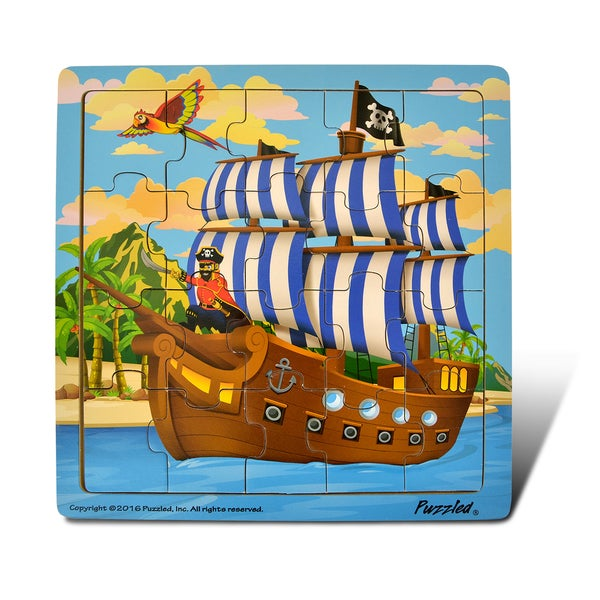 Puzzled Jigsaw Pirate Ship Puzzle