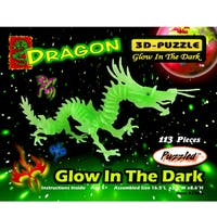 Puzzled Glow-in-the-dark Dragon Puzzle