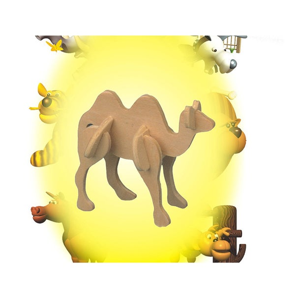 Puzzled Camel Mini 3D Puzzle