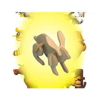 Puzzled Rabbit Mini 3D Puzzle