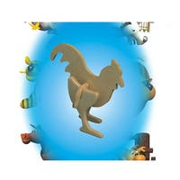 Puzzled Wood Mini 3D Rooster Puzzle