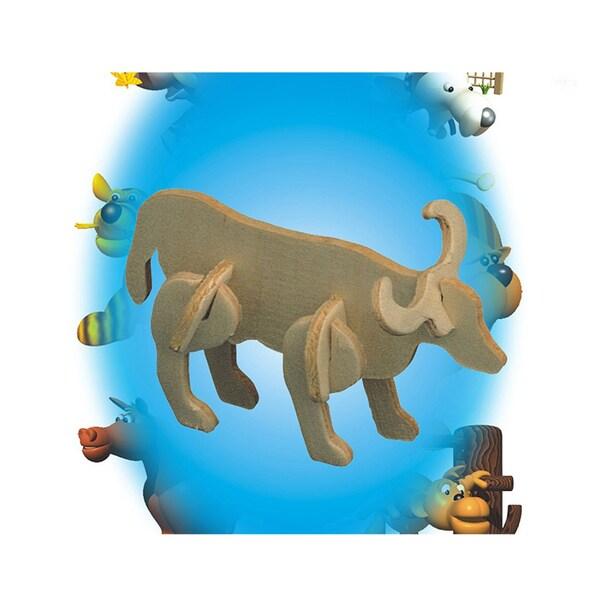 Puzzled Bull Wood Mini 3D Puzzle