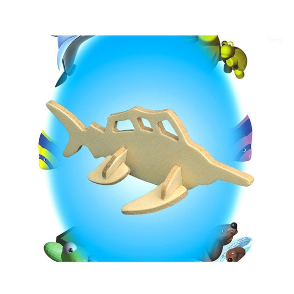 Puzzled Swordfish Mini 3D Wood Puzzle