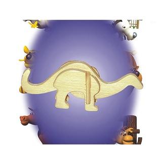 Puzzled Apatosaurus Mini 3D Puzzle