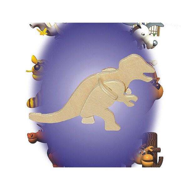 Puzzled Tyrannosaurus Wooden Mini 3D Puzzle