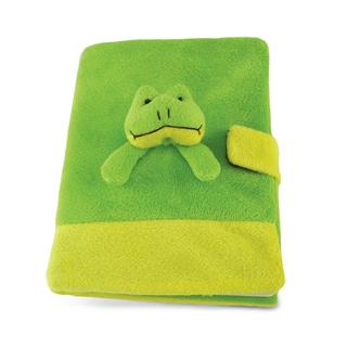 Puzzled Inc. Plush Frog Notebook
