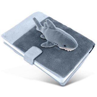 Puzzled Inc. Plush Shark Notebook