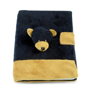 Puzzled Inc. Multicolored Black Bear Plush Notebook