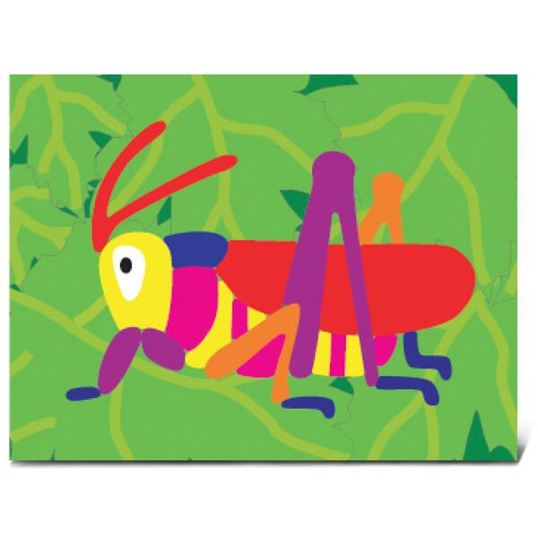 Puzzled Grasshopper Fun Puzzle