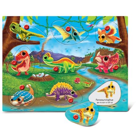 Puzzled Dinosaur Land Peg Puzzle
