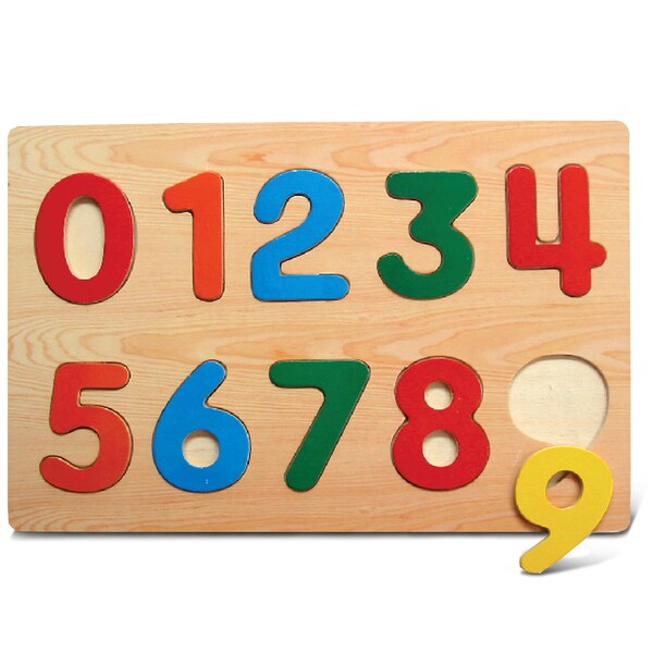 Puzzled Small Numbers Raised Puzzle
