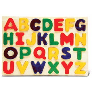 Puzzled Raised Small Letters Puzzle