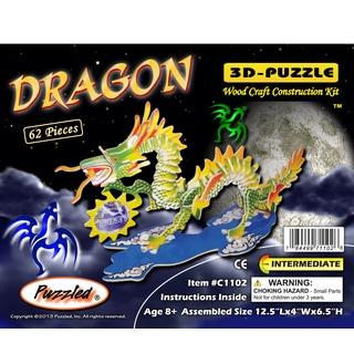 Puzzled Illuminated 3D Puzzles Dragon
