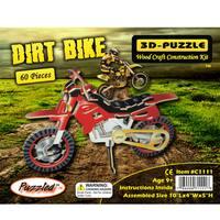 Puzzled Dirt Bike Illuminated 3D Jigsaw Puzzle