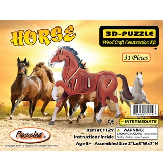 Puzzled Illuminated 3D Puzzles Horse