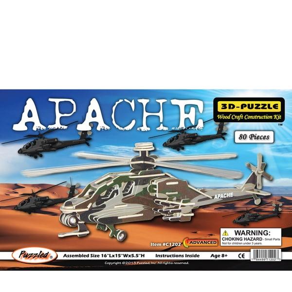 Puzzled Apache Wood Illuminated 3D Puzzle