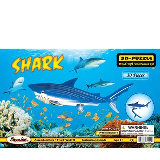 Puzzled Shark Illuminated 3D Puzzle