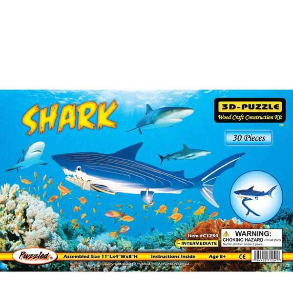 Puzzled Shark Illuminated 3D Puzzle
