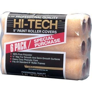 Gam RC06938 Hi-Tech 6 Pack Roller Covers