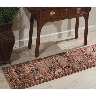 Nourison Kirman Multicolor Area Rug (1'11 x 7'6)