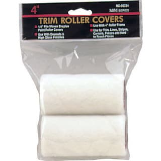 "Gam RC00322 3"" X 1/4"" Mohair Mini Trim Roller Covers Twin Pack"
